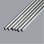 Nerūdijančio plieno (AISI 304) šlifuotas vamzdis 12 x 1.5 mm. Kaina 2.20 eur.+PVM už 1 metrą.