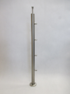 Statramstis su strypo laikikliais: Ø = 42.4 mm__ aukštis 960 mm__Kaina: 40 € + PVM