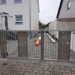 Nerūdijančio plieno vartai